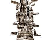 Portland Marquee Totem Ar...