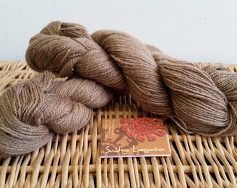 "Alpaca Blend Lace Yarn Mirasol Sulka Legato ""Camel"" Merino Alpaca Silk"