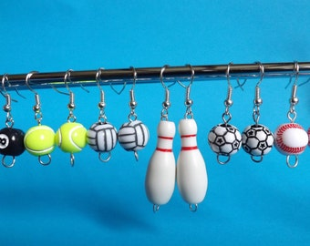 Sports Ball Earrings