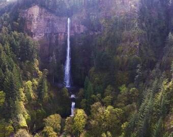 Multnomah Falls Aerial Photo SET