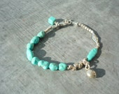 Handcrafted, Turquoise, Sterling Silver, Bracelet