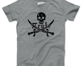 MENS Pirate t shirt funny math shirt S-4XL
