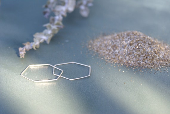 the Hexa Hoop earring