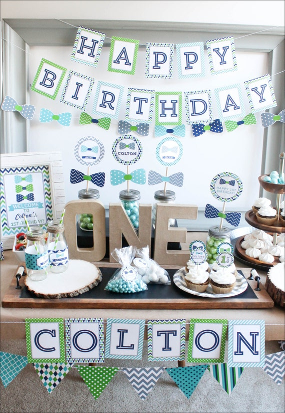 First Birthday Boy Decorations boy first birthday decorations 1st