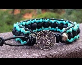 Route 66 Mens bracelet