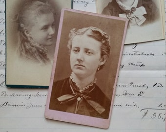 Victorian Cabinet Card Lot | Photography | 1800's Women, Girls