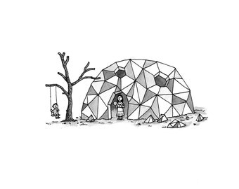 Home is a Kaleidoscopic Dome