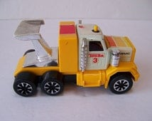 Vintage Tonka Toy Truck.Made in Japan.Collectible Toy Trucks.Tonka Truck Birthday.Tonka 3 Truck GMC.Tonka Truck with Spoiler.Little Boys Toy