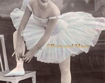 Edwardian Ballerina - New 4x6 Photo Print - SD166