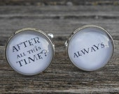 After All This Time? Always Cufflinks. CHOOSE YOUR COLOR. Anniversary, Unique Birthday Gift, Groomsmen Gift, Christmas.