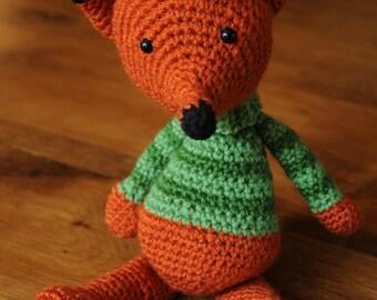 Amigurumi orange fox
