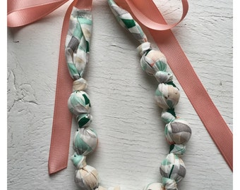 Fabric Necklace | Mint Julep