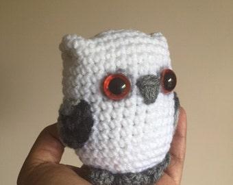 Owl, Soft Doll Sculpture