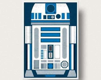 Star wars Movie Poster R2D2 posterPrint Movie Star Wars robot movie poster Star Wars movie star wars The Empire Strikes Back movie poster