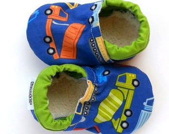 baby truck shoes baby boy construction shoes soft sole shoes for baby truck slippers vegan slippers vegan truck booties baby boy booties