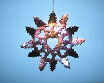Hearty snowflake