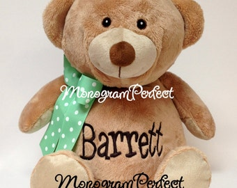 "Personalized Teddy Bear 16"" Stuffed Teddy Bear"