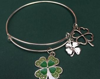 4H Charm Bracelet
