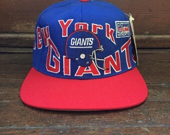 vintage new york giants snapback adult OSFA apex one