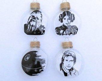 Set of Four Character Ornaments