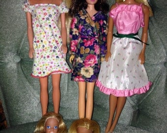 Mixed lot of Vintage Barbie dolls