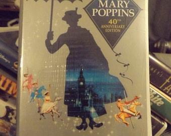 Disney Classic - Mary Poppins 40th Anniversary Edition Walt Disney VHS Video Tape