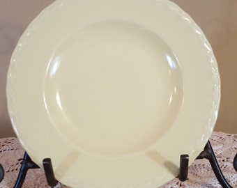 1950's Vernon Kilns Native California Salad/Dessert Plates in Yellow, Set of 2