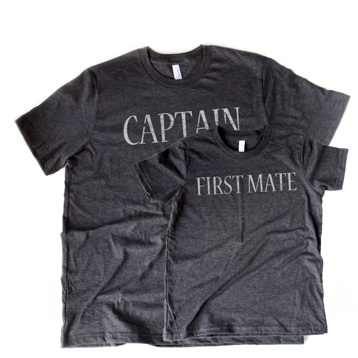 captain first mate tee set father and son shirt by opalandharv. Black Bedroom Furniture Sets. Home Design Ideas