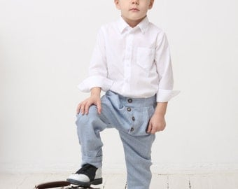 Boys pants Toddler boy linen pants Boys pants Boys baggy pants Boys trousers Boys ring bearer pants Boys clothes Boys first communion