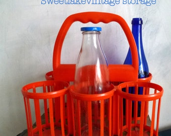 orange bottle storage
