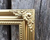 Gold picture frame,Ornate, 5 x 7, 4x6, Gold,Vintage Chic,  Baroque, wedding frame, nursery, Christmas gift (Los Angeles)
