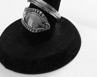 Silver Spoon Ring size 7