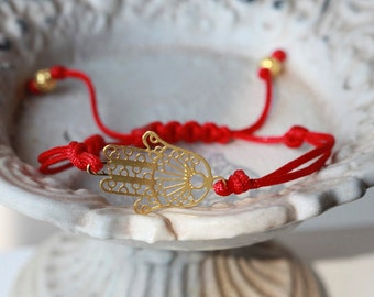 Lucky Hamsa Hand - Celebrity Hamsa bracelet - Lucky Hamsa hand - Celebrity bracelet