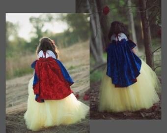 REVERSIBLE Princess Cape