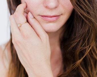 dainty gold ring