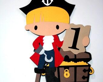Pirate Cake Topper or Centerpiece