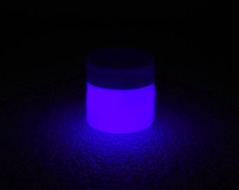 Purple Glow in the Dark Paint - 1 oz