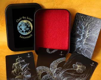 PRE-ORDER Clair De Lune Lenormand Deck - divination, oracle deck, Lenormand deck