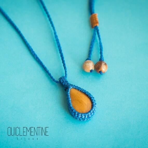 Mustard limonite necklace