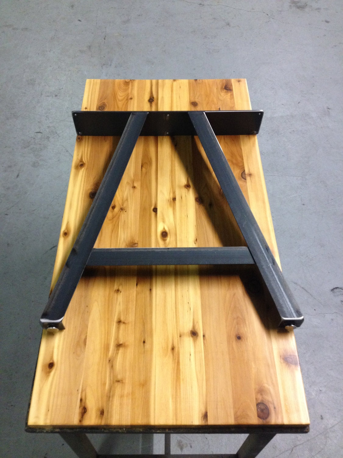A Frame Table Legs Adjustable Leveling Feet By Thelegshoppe