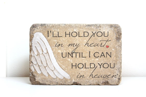 Ready To Ship Memorial Stone Sympathy Miscarriage Infant