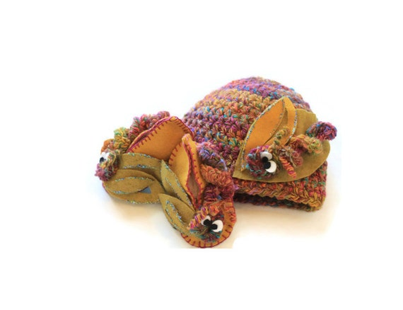 Baby Shoes   Baby Beanie   Gift Set   Hungry Caterpillar Hat   Baby Booties   Hat   Baby Accessories   Crochet   Organic Wool Felt   Babies