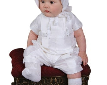 Marcus Boy Christening Outfit, Boy Baptism Outfit, Boy Blessing Outfit