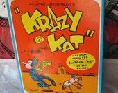 Vintage Krazy Kat Comics George Herriman Hardcover Book 1977