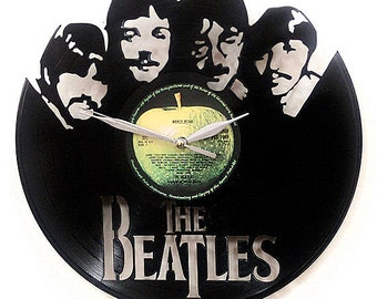 The Beatles III Wall Art -Vinyl LP Record Clock or Framed -Great Rock'n'Roll Gift