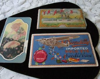 Vintage Needle Cases