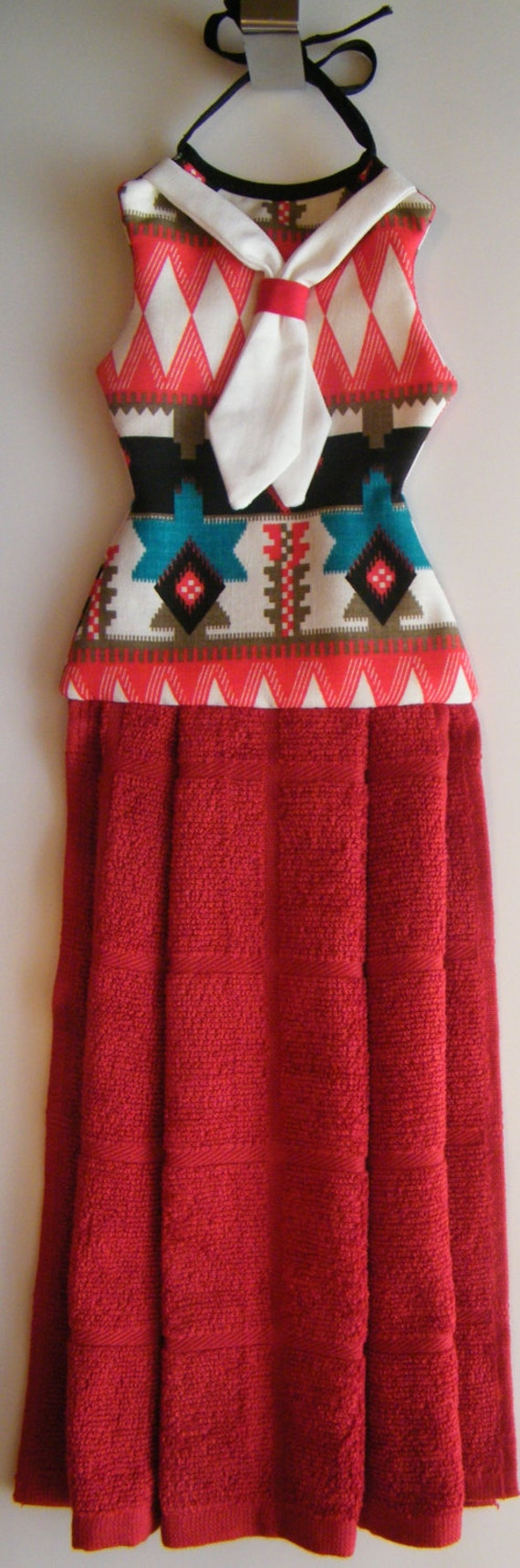 Hand towel decor with native american prints by for Native kitchen designs and decors photos