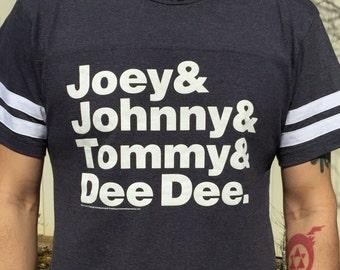 Ramones Helvetica vintage-style T-Shirt