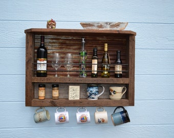Barn Wood - Spice and Olive Oil Rack