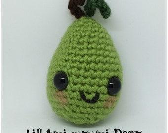 Lil' Amigurumi Pear